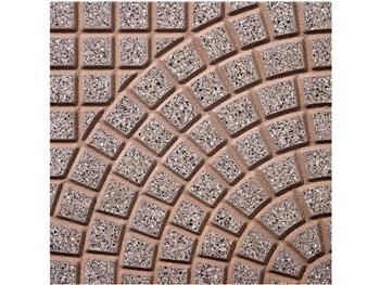 Ventaglio e curva pavimentazioni carrabili in cemento giulioli