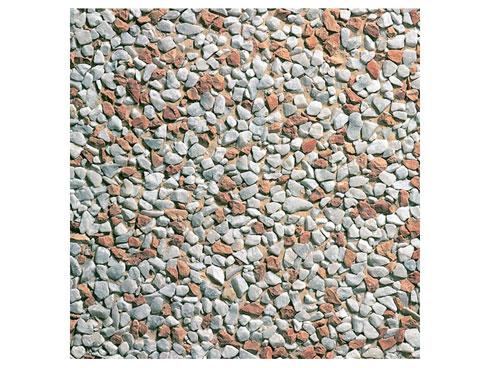 piastrelle da giardino effetto ghiaiato 50x50 cm